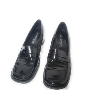 Via Spiga Womens Black Shoe Wedges